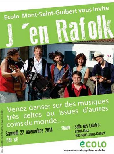 Bal Folk avec J'en Rafolk – 22 novembre