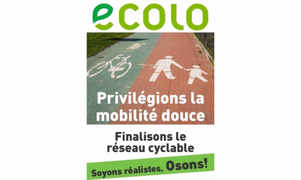 Encourageons les vélos en créant un réseau cyclable