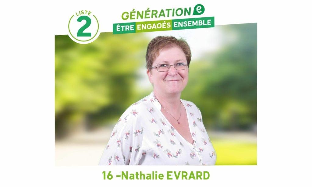 Nos candidats se présentent : Nathalie Evrard